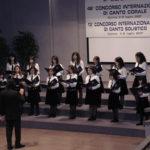 """46° Concorso Internazionale Corale """"Seghizzi""""  5 Luglio 2007 Gorizia Coro dauno di Voci Bianche """"U. GIORDANO"""""""