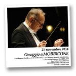 Omaggio a Morricone ASSAGGI DI MUSICA 2014/15 18 novembre 2014